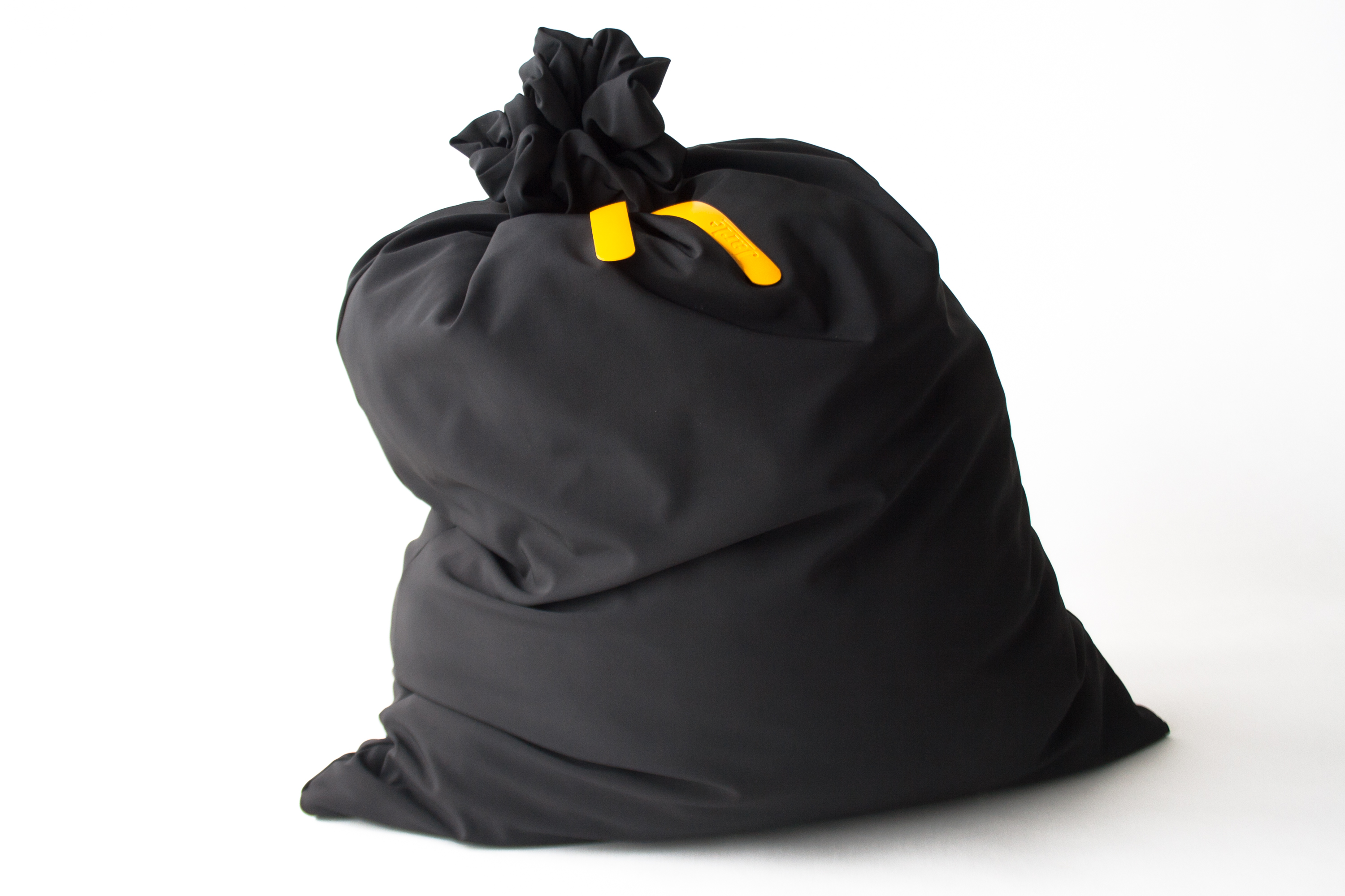 Garbage Pillow, a pillow that looks like a garbage bag. Comfortable trash. Designed by Jarle Veldman